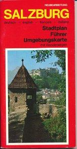 Salzburg – Stadtplan, Führer, Umgebungskarte