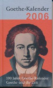 Goethe-Kalender 2006 – Goethe und die Zeit
