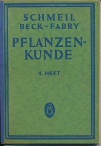 Pflanzenkunde  4. Heft