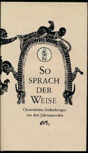So sprach der Weise  DDR-Buch