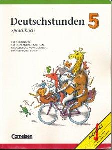 Deutschstunden 5 Sprachbuch