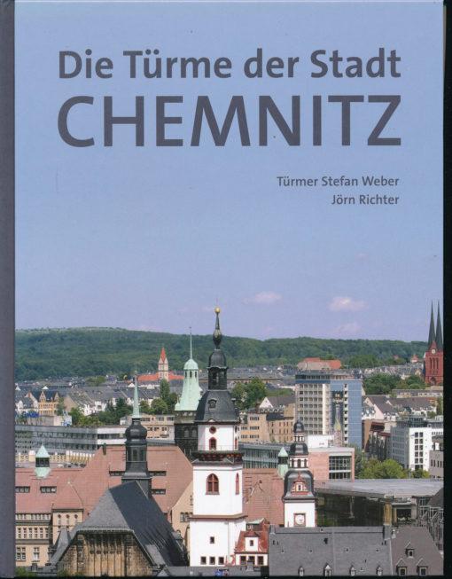 Die Türme der Stadt Chemnitz
