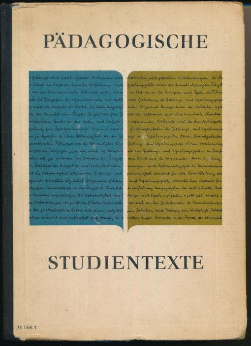 Pädagogische Studientexte