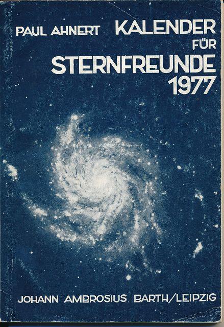Kalender für Sternfreunde 1977