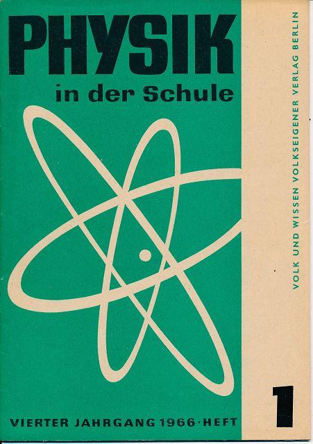 Physik in der Schule  Heft 1-12/1966