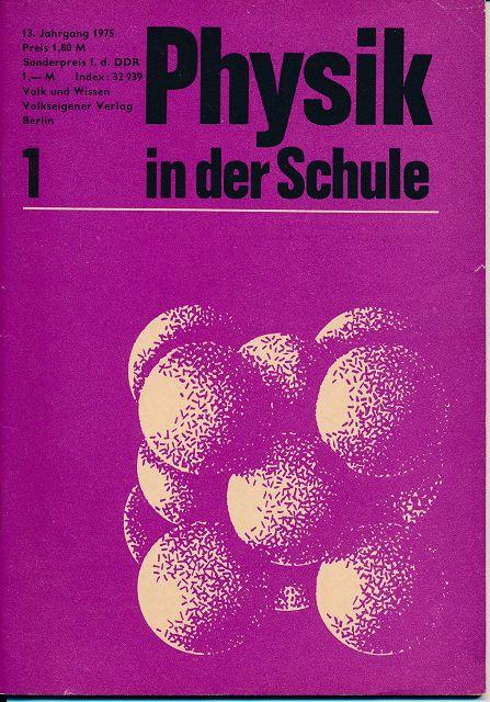 Physik in der Schule  Heft 1-12/1975