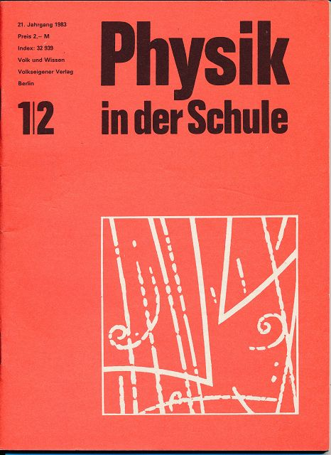 Physik in der Schule  Heft 1-12/1983