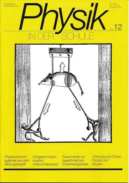Physik in der Schule  Heft 1-12/1994