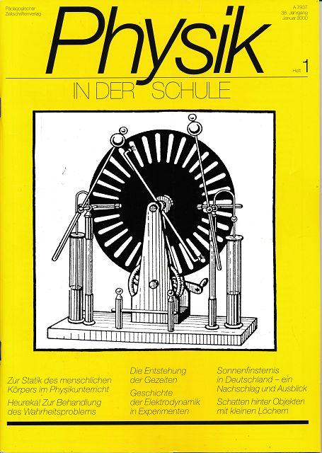 Physik in der Schule  Heft 1-6/2000