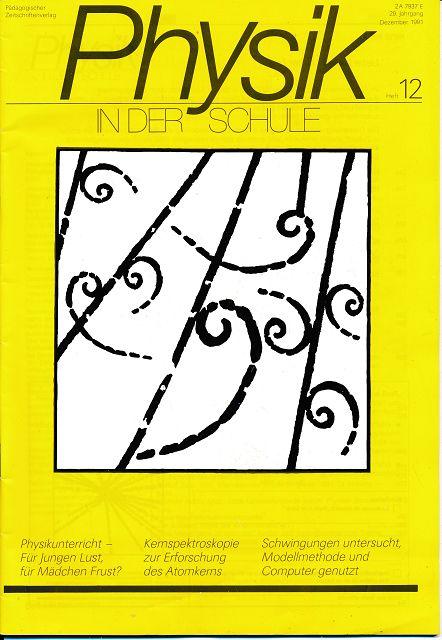 Physik in der Schule  Heft 9-12/1991