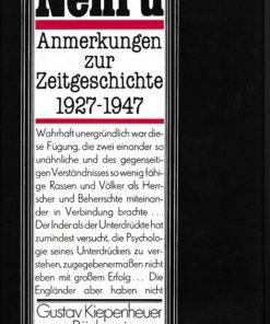 Anmerkungen zur Zeitgeschichte 1927-1947