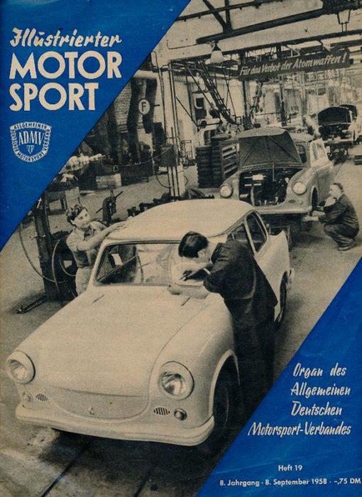 Illustrierter Motorsport Heft 19/1958