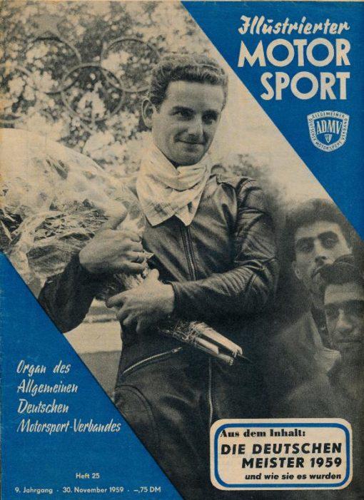 Illustrierter Motorsport Heft 25/1959