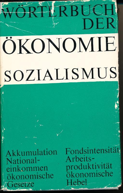 Wörterbuch der Ökonomie – Sozialismus