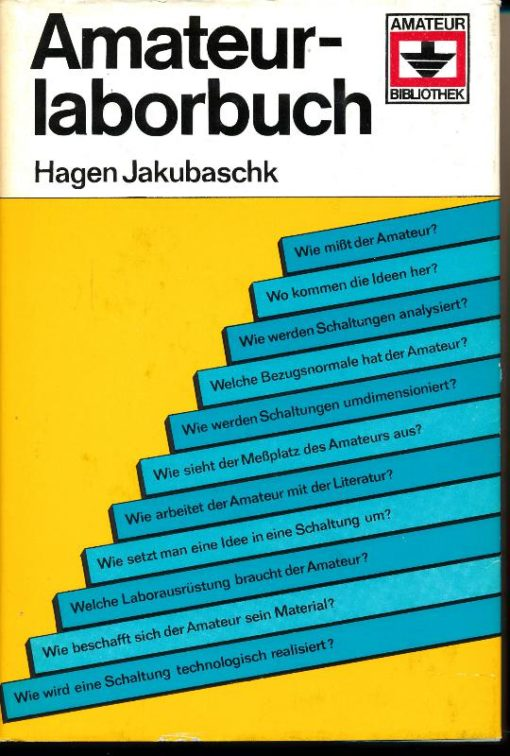 Amateurlaborbuch