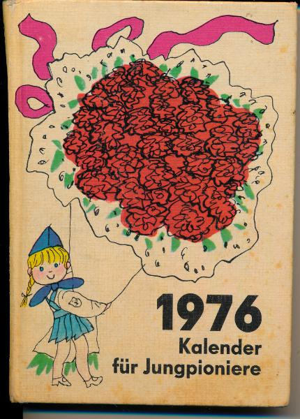 Kalender für Jungpioniere 1976