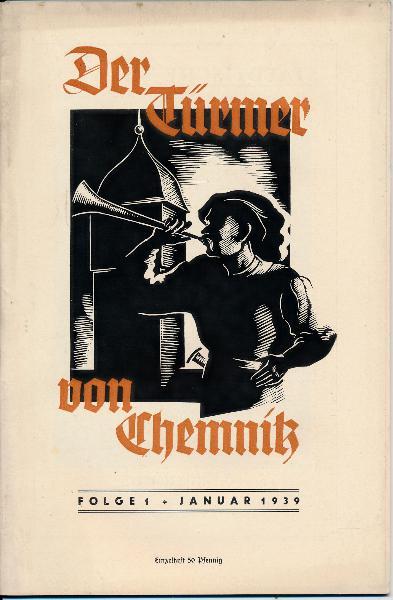 Der Türmer von Chemnitz  Folge 1 / Januar 1939