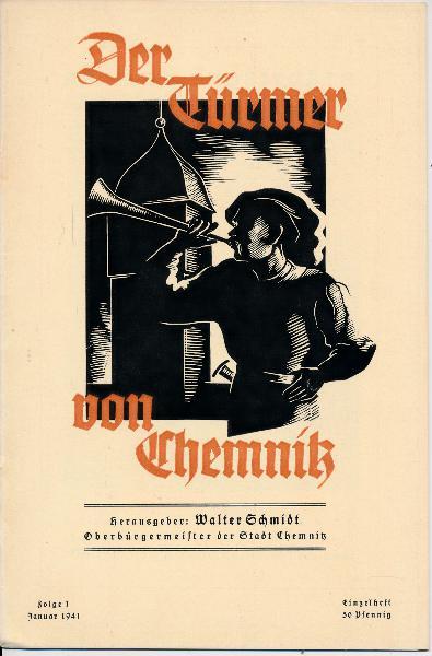 Der Türmer von Chemnitz  Folge 1 / Januar 1941
