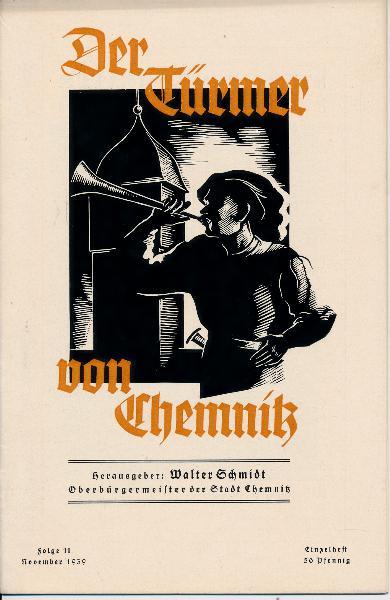 Der Türmer von Chemnitz  Folge 11 / November 1939