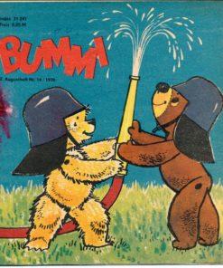 Bummi 2. Augustheft Nr. 16/1970
