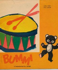 Bummi 2. Septemberheft Nr. 18/1969