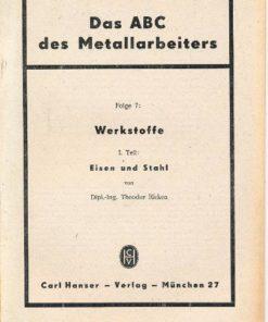 Das ABC des Metallarbeiters