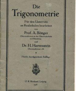 Die Trigonometrie