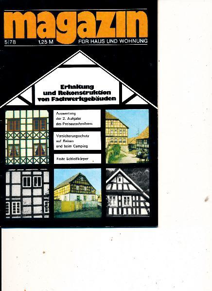Magazin für Haus und Wohnung  5/1978