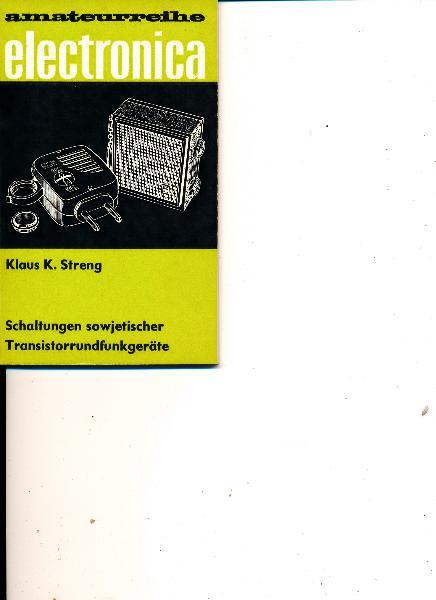 Schaltungen sowjetischer Transistorrundfunkgeräte