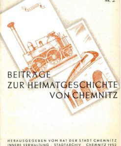 Beiträge zur Heimatgeschichte von Chemnitz