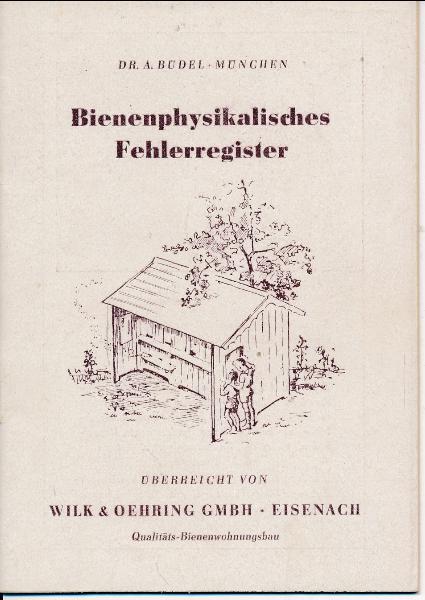 Bienenphysikalisches Fehlerregister