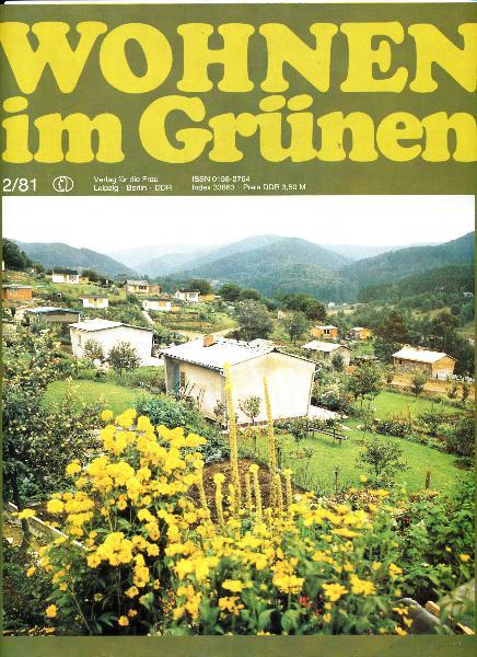 Wohnen im Grünen  2/1981