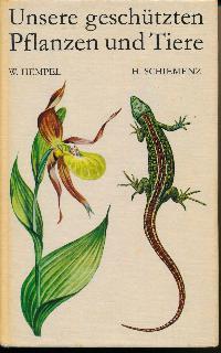 shop.ddrbuch.de DDR-Buch; geschützte Pflanzen und Tiere der DDR; mit 62 gezeichneten Farbtafeln von W. Leuck, M. Lissmann und H. Walther sowie zahlreichen Abbildungen und Verbreitungskarten