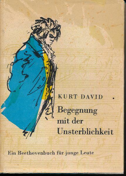 """shop.ddrbuch.de DDR-Buch; Ein Beethovenbuch für junge Leute; 6 Kapitel sowie Zeittafel; mit zahlreichen Abbildungen und Schwarzweißfotografien; für Leser ab 13 Jahre; """"In diesem Buch begegnest du einem Mann, der zweiunddreißigjährig niederschrieb: """"...Es fehlte wenig, und ich endigte selbst mein Leben..."""" Du fragst warum? Er war taub, unheilbar taub – und Musiker! Aber unsterblich war er an diesem Tag noch nicht. Du wirst hören und lesen, wie er es geworden ist."""""""