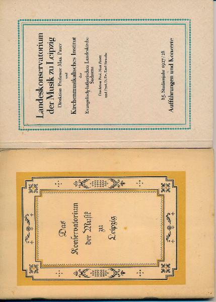 shop.ddrbuch.de 83. bis 86. Studienjahr / Konzertplan / 84. 3x vorhanden
