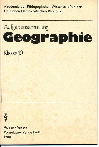 shop.ddrbuch.de Geographie der sozialistischen, nichtsozialistischen Staaten und der DDR – Allgemeine physische Geographie