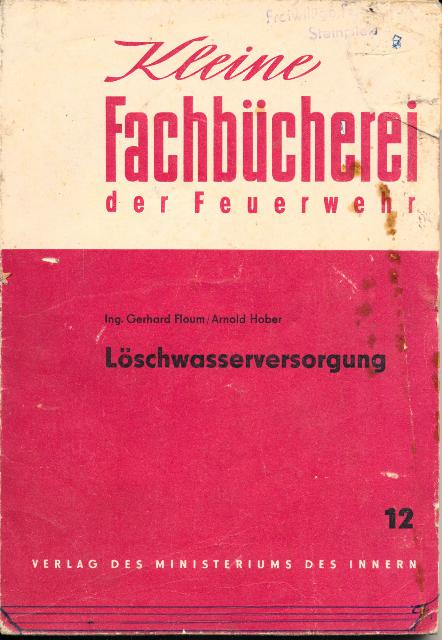 shop.ddrbuch.de Kleine Fachbücherei der Feuerwehr