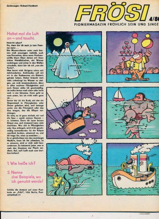 shop.ddrbuch.de Kinderzeitschrift aus der DDR, ohne äußere Umschlagseite