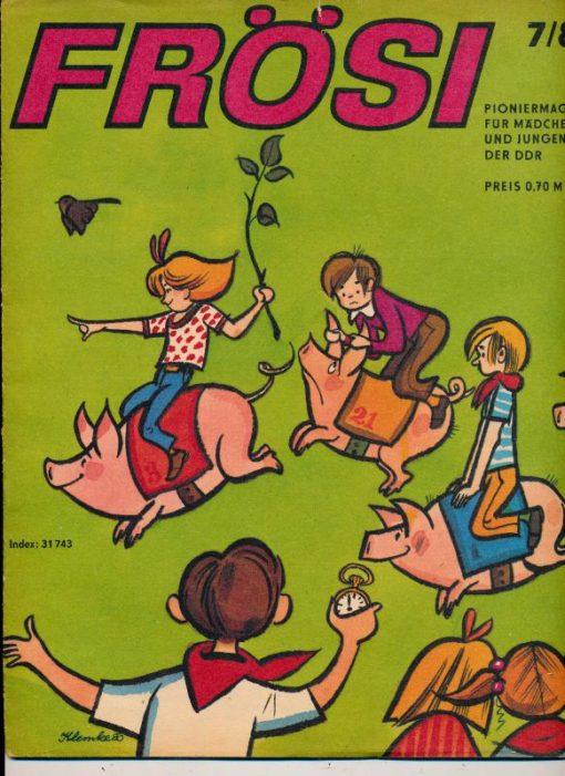 shop.ddrbuch.de Kinderzeitschrift aus der DDR, Inklusive Umschlagseite