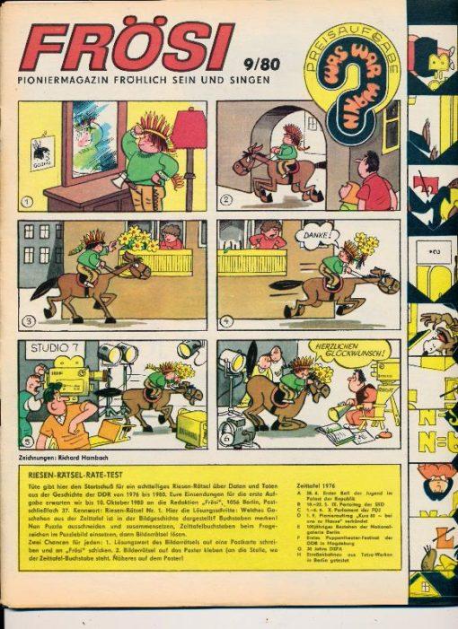 shop.ddrbuch.de Kinderzeitschrift aus der DDR, ohne Extra Umschlagseite