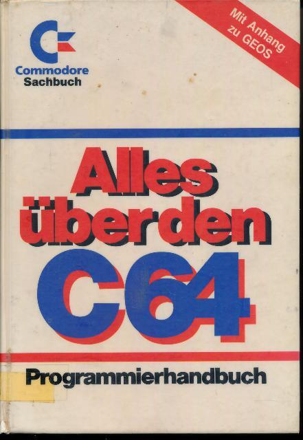 shop.ddrbuch.de Programmierhandbuch Mit Anhang zu GEOS, Einband unsauber
