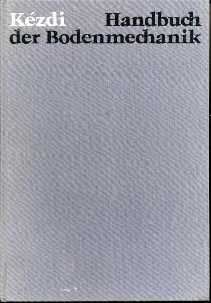 """shop.ddrbuch.de DDR-Buch, Anwendung der Bodenmechanik in der Praxis, mit zahlreichen Abbildungen, Diagrammen, Übersichten, Formeln und Berechnungen, Inhalt: 28 Kapitel, Buchseiten durchgehend reinweißes Kunstdruckpapier, """"Der Verfasser strebte danach, die Methode klar herauszustellen, die er bei der Behandlung und zur Lösung von geotechnischen Problemen als richtig und zweckmäßig erachtet, und die sich in der Praxis gut bewährt hat. Mit einer Ausnahme (Beispiel 2) stammen die besprochenen Beispiele aus dem Archiv des Lehrstuhls für Geotechnik der Technischen Universität Budapest."""""""