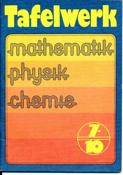 shop.ddrbuch.de DDR-Lehrbuch, Mathematik, Physik, Chemie, farbig und sehr übersichtlich gestaltet, mit Abbildungen