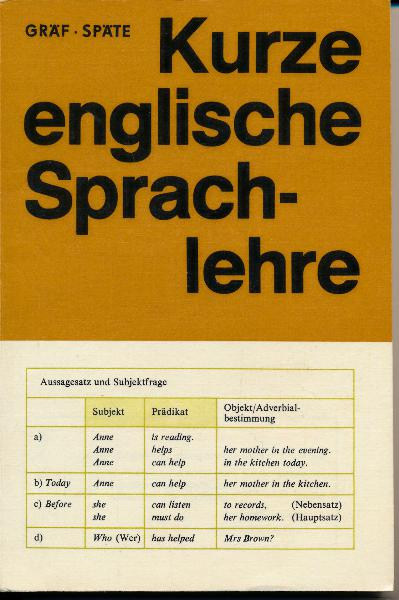 shop.ddrbuch.de DDR-Lehrbuch, farbig und sehr übersichtlich gestaltet, Inhalt: Satzbaumuster, Die Wortarten und ihre Verwendung im Satz, umfangreicher Anhang