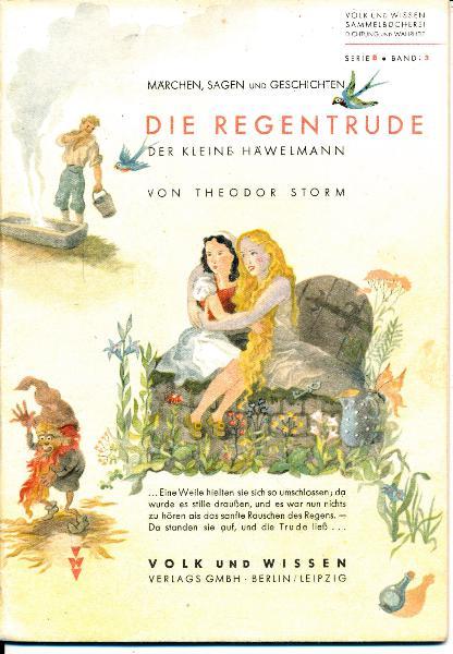 shop.ddrbuch.de Märchen, Volk und Wissen Sammelbücherei: Dichtung und Wahrheit, Serie B, Band 3, mit vielen lebendigen Zeichnungen illustriert, mit Vor- und Nachwort