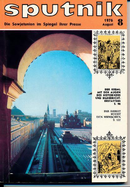 shop.ddrbuch.de DDR-Lektüre, Die Sowjetunion im Spiegel der Presse, zahlreiche verschiedene Themen, mit Farb- und Schwarzweißfotografien