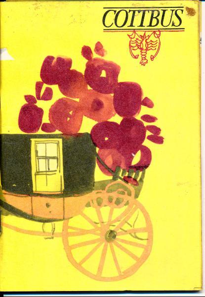 shop.ddrbuch.de DDR-Heft, Mittelpunkt des Kohle- und Energiezentrums der DDR, mit vielen Informationen für die Besucher der Stadt Cottbus, farbig gestaltet sowie Farb- und Schwarzweißfotografien, durchgehend Kunstdruckpapier