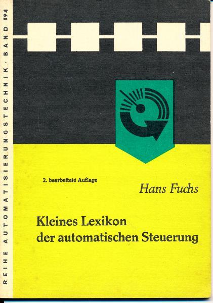 """shop.ddrbuch.de DDR-Buch, mit zahlreichen Abbildungen, aus der Reihe """"Automatisierungstechnik"""" Band 194"""