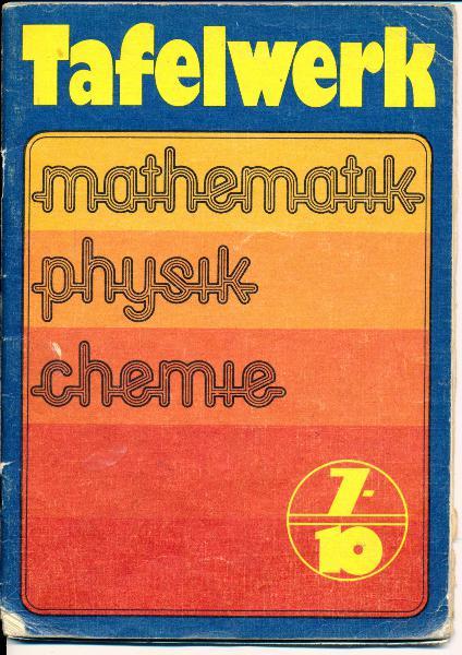 shop.ddrbuch.de DDR-Lehrbuch, Mathematik, Physik, Chemie, farbig und übersichtlich gestaltet, mit Abbildungen