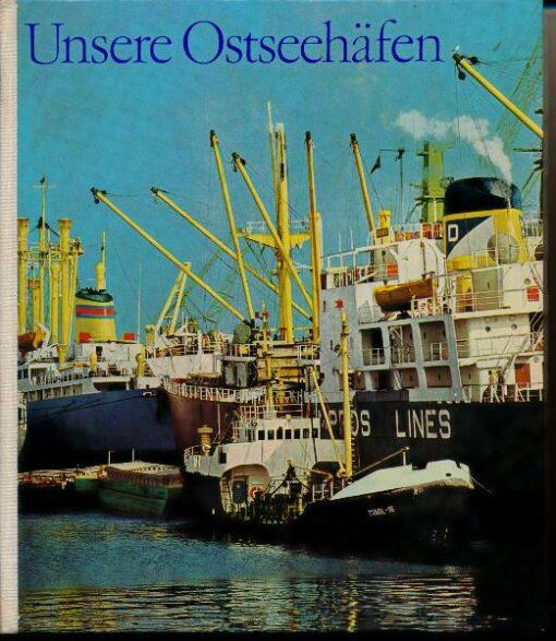 shop.ddrbuch.de DDR-Buch, Bild-Text-Band mit Farb- und Schwarzweißfotografien über verschiedene Häfen, Seiten durchgehend Kunstdruckpapier